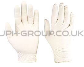 Powder Free Latex Gloves Large x 100