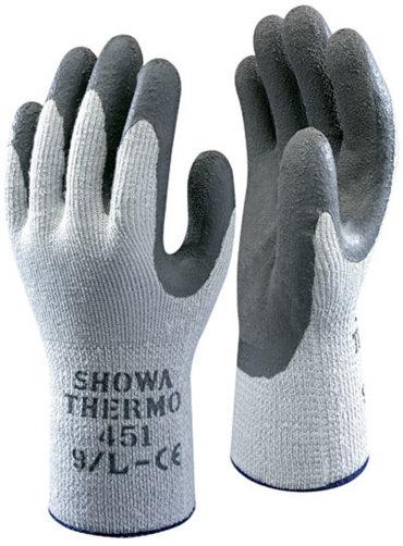 Thermo Grey Gloves Size 10