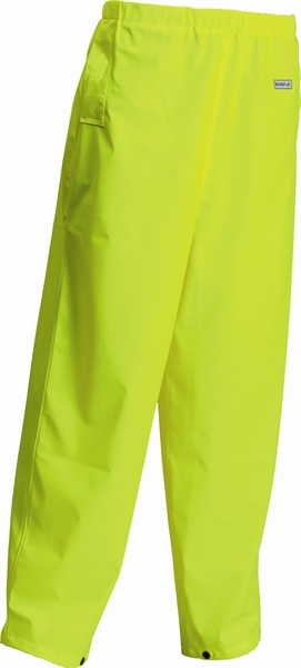 Satin Yellow Water Proof Trouser Microflex/Breathable Size X-Large