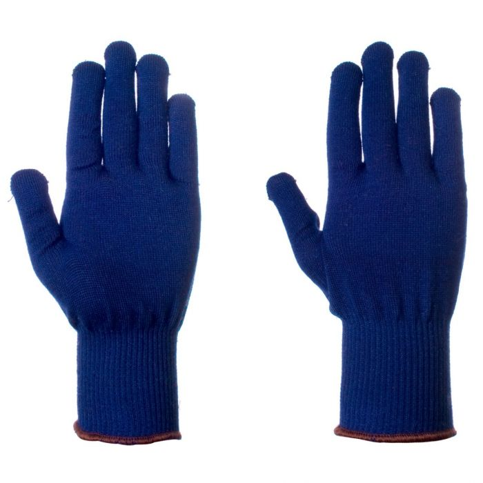 Thermal Blue Gloves Size 9 (liners)