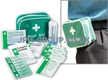 First Aid Travel Kit K306 in Nylon with poch Belt pouch