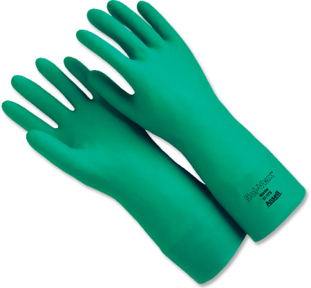 Solvex Chemical Resistant Gloves Size 10
