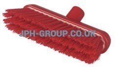 B929 Red Resin Set Broom Head