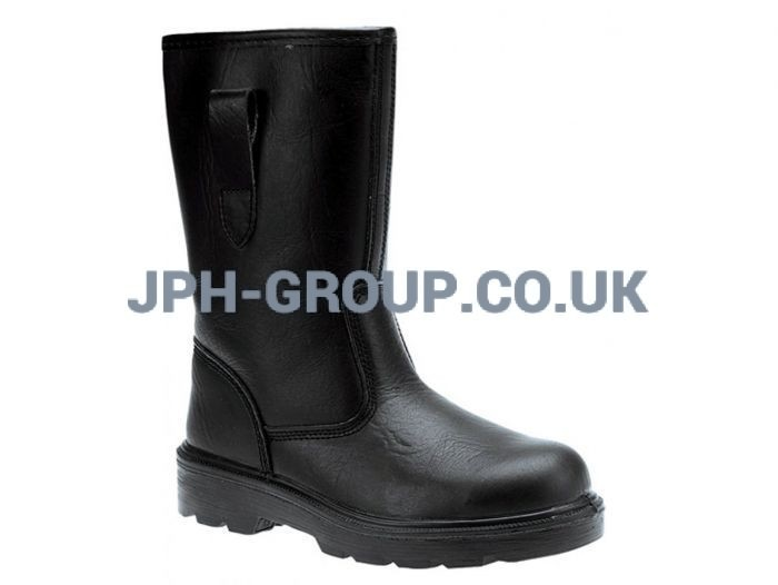Black Rigger Boots Size 10