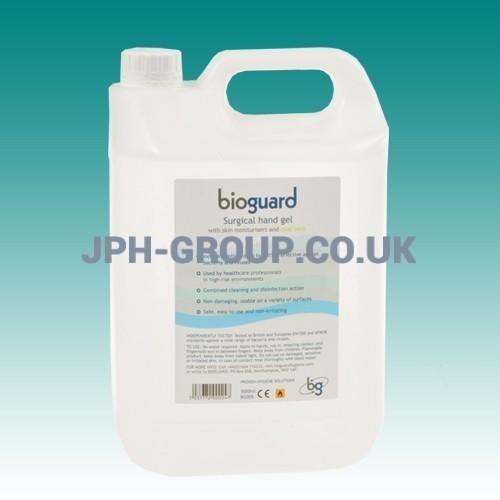 Bioguard Hand Gel 5ltr