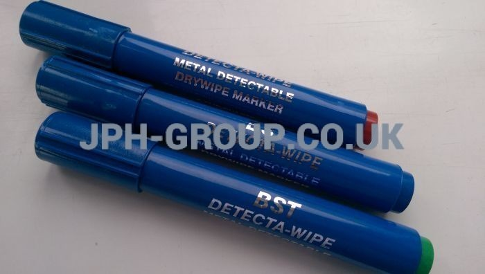 Black Dry wipe Detectable Marker