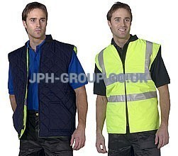 Hi Vis Bodywarmer Reversable Yellow 2XL