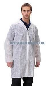 Disposable Visitor Coats 2XL