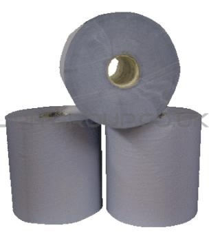 816 Bay West Embossed Blue Hand Towel 20cm x 155mtr 12 rolls per case