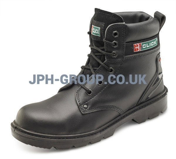 Click Safety Boot Black Size 10