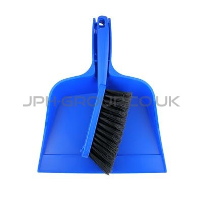 Dustpan and Brush Set Blue