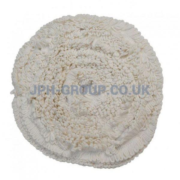 15'' Soil Sorb Carpet Bonnet Mop White