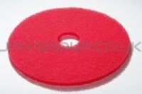 "17""Red Maintaining Pad"