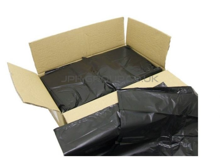 Black Refuse Sacks 18 x 29 x 39 x 200