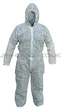 Disposable Boilersuit White (M)