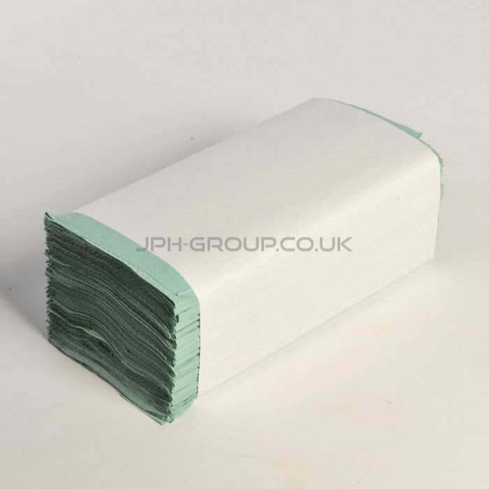 (12903) 1PLY GREEN INTERFOLD x 3600
