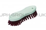 Vikan Hard Scrubbing Brush Red