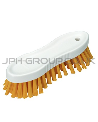 Vikan Hard Scrubbing Brush Yellow
