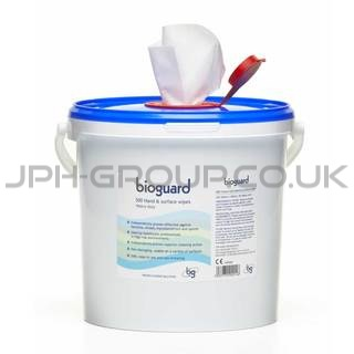 Bioguard Giant Hand and Surface Disinfectant Wipes x 500