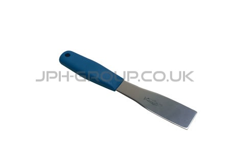 "3"" Stainless Steel Scraper Blue Handle"