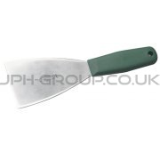 "3"" Stainless Steel Hand Scraper Green Handle"