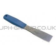 """1.5"""" Stainless Steel Scraper Blue Handle"""