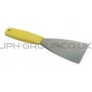 "1.5"" Stainless Steel Scraper Yellow Handle"