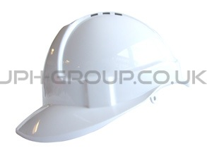 Basic White Hard Hat